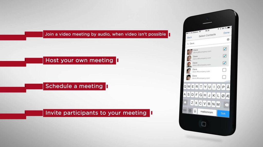videxio my meeting app