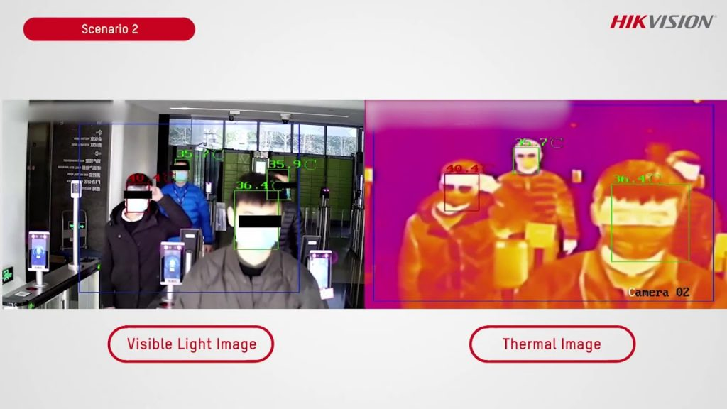 hikvision thermal images